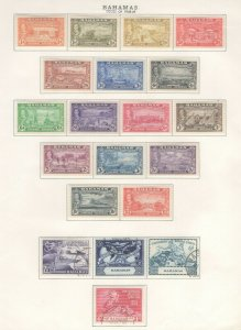 Bahamas Stamps 1948-49 Approx. CV. $94.25 (JH 9/22) GP