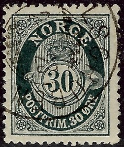 Nice Norway #55 Used F-VF...grab a bargain and fill an empty spot!