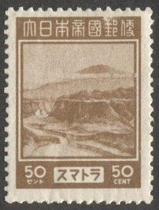 Netherlands Indies  Japanese Occupation Sumatra 1943, Sc N25  MLH 50c  VF