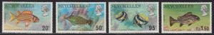 Seychelles 313-316 Seychelles Fish 1972