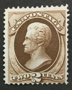MOMEN: US #157 MINT OG NH #28209