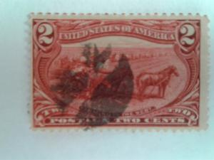 SCOTT # 286 USED TRANS-MISSISSIPPI EXPOSITION ISSUE