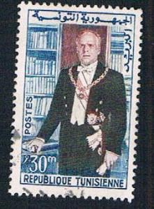 Tunisia 385 Used President Bourguiba (BP7119)