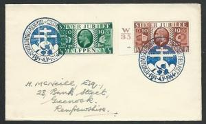 GB 1944 Czechoslovakia Field PO in GB cover, commem cancel.................61256