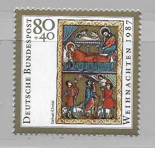 Germany B662 Christmas single MNH