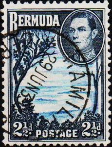 Bermuda. 1938  2 1/2d  S.G.113  Fine Used