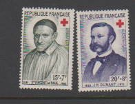 FRANCE B327-B328  (2) STAMPS  MLH .LOT#F82