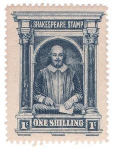 (I.B) Cinderella : Shakespeare Memorial Stamp 1/- (1901)