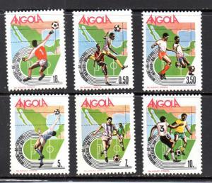 Angola 723-728 MNH