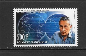 FRENCH POLYNESIA #677  PAUL-EMILE VICTOR  MNH