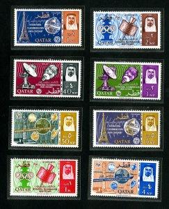 Qatar Stamps # 61-8 VF OG NH