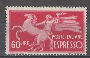 COLLECTION LOT # 4965 ITALY #E25 MH 1948 CV+$35