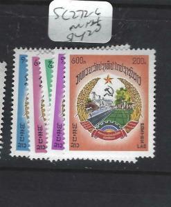 LAOS   (PP1205B)     SC 272-6   MNH