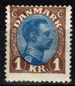 Denmark #128  F-VF Unused CV $75.00 (Z9974)