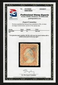 #26A plated 79L10e RECUT INNER LINE (USED) PSE Certified cv$550.00