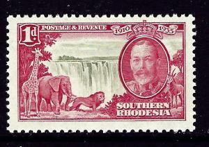 Southern Rhodesia 33 MNH 1935 KGV Silver Jubilee