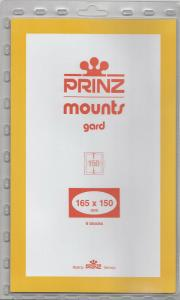 PRINZ CLEAR MOUNTS 165X150 (6) RETAIL PRICE $10.50