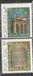 PORTUGAL 1392-93 MNH BRIDGES Z392