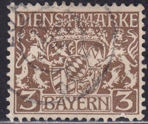 Bayern O6 Hinged 1916 Coat of Arms