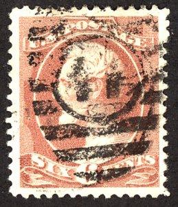 U.S. #208 Used