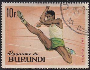 Burundi 107 XVIII Summer Olympic Games, Tokyo 1964