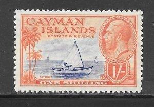 Cayman Islands #93 MH Single