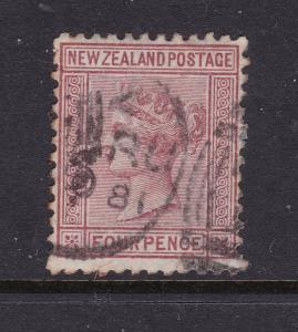 New Zealand the 1874 used 4d