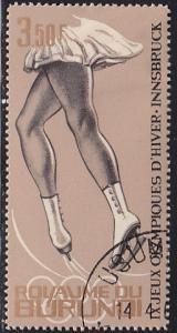 Burundi 69 IX Winter Olympic Games, Innsbruck 1964