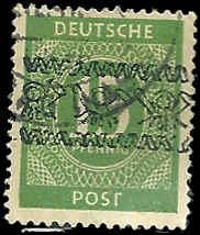 Germany - 587 - Used - SCV-16.00