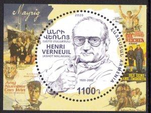 ARMENIA 2020 FAMOUS PERSONS PERSONNES CÉLÈBRES PERSONEN VERNEUIL [2005]