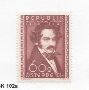 Austria, 569, Moritz Michael Daffinger Single, **LH** (LL2018)