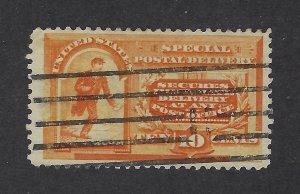 United States Scott E3 10¢ Special Delivery Orange Used