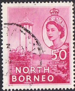 North Borneo #221 Used