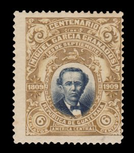 GUATEMALA STAMP 1910 SCOTT # 140. UNUSED.