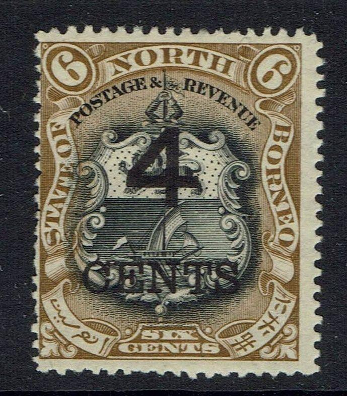 North Borneo SG# 113 - Mint Hinged (Hinge Rem) - 052216