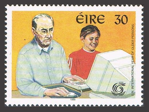 Ireland 1181,MNH. Year of the Older Persons IYOP-1999.