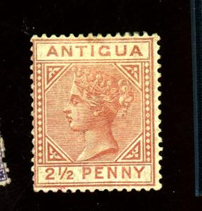 Antigua #13 MINT F-VF OG HR's Cat $225