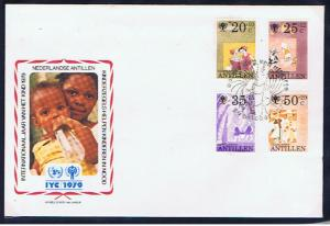 1979 YEAR OF THE CHILD  FDC