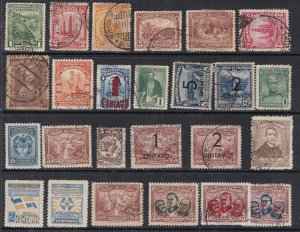 COLOMBIA ^^^^^^1932-45     used  collection ( few  mint )@@  sc65colocob