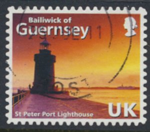 Guernsey SG 1240 Used St Peter Port Lighthouse 2008 SC# 997i See scan