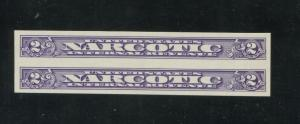 1963 United States Internal Revenue Narcotic Stamp #RJA80a Mint Never Hinged XF