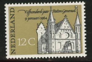 Netherlands Scott 422 MH* 1964 stamp