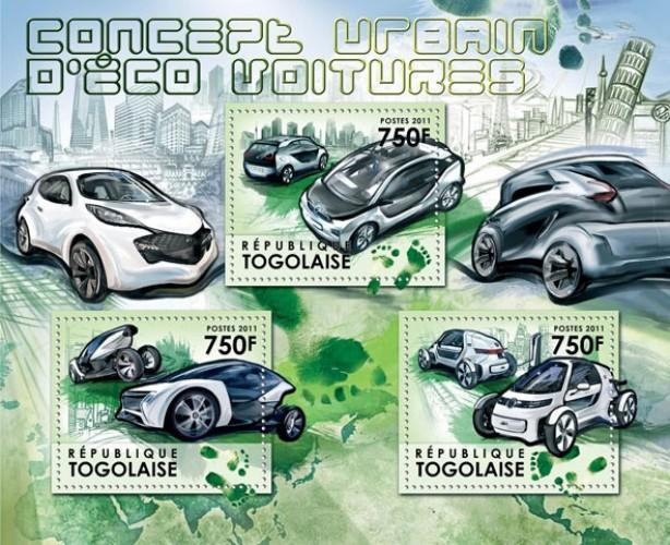 TOGO 2011 SHEET URBAN CONCEPT FOR GREEN CARS tg11607a
