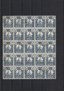 Used Middle East 020p Stamps Block Ref 27784