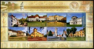 HERRICKSTAMP NEW ISSUES HUNGARY Castles 2018 Sheetlet