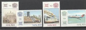 MALAWI #534-7 MINT NEVER HINGED COMPLETE