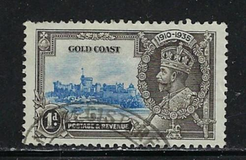 Gold Coast 108 Used 1935 Issue