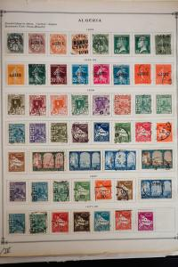 French Colonies Mostly Algeria Stamp Collection
