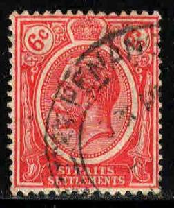 Straits Settlements # 189 ~ Used, HMR