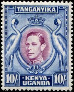 Kenya, Uganda & Tanganyika - KUT SC# 84 SG# 149b p13-1/4x13-3/4 MH
